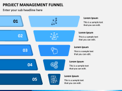 Project Management Funnel PPT Slide 7