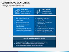 Coaching Vs Mentoring PPT Slide 5