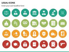 Legal Icons PPT Slide 3