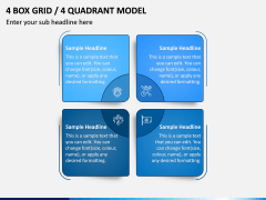 4 Box Grid PPT Slide 2