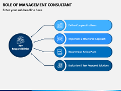 Role of Management Consultant PPT Slide 1