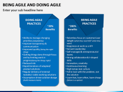 Being Agile and Doing Agile PPT Slide 5