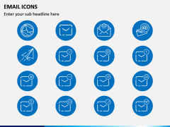 Email Icons PPT Slide 3