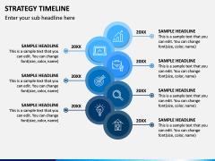 Strategy Timeline PPT Slide 1