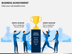 Business Achievement PPT Slide 5