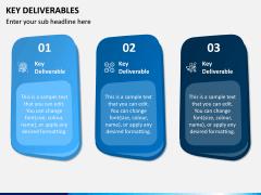 Key Deliverables PPT Slide 1