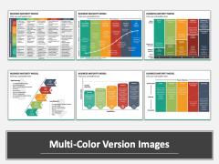 Business Maturity Model Multicolor Combined