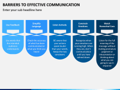 Barriers to Effective Communication PPT Slide 7