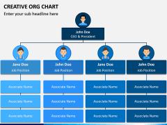 Creative Organizational Chart PPT Slide 11