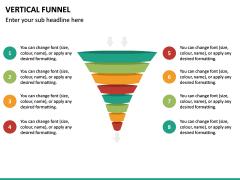 Vertical Funnel PPT Slide 34