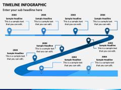 Timeline Infographic PPT Slide 1