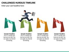 Challenges Hurdles Timeline PPT Slide 6
