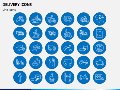 Delivery Icons PPT Slide 2