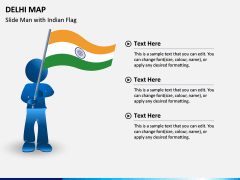 Delhi Map PPT Slide 6