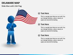 Delaware Map PPT Slide 7