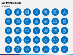 Software Icons PPT Slide 3