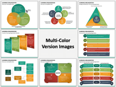 Learning Organization Multicolor Combined