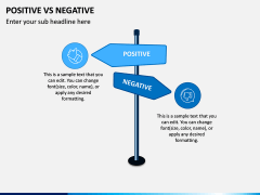Positive Negative PPT Slide 6