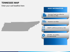 Tennessee Map PPT Slide 4