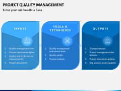 Project Quality Management PPT Slide 5