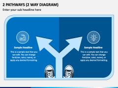2 Pathways (2 Way Diagram) PPT Slide 1