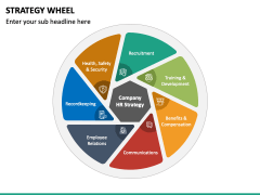Strategy Wheel PPT Slide 6