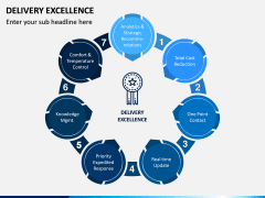 Delivery Excellence PPT Slide 1