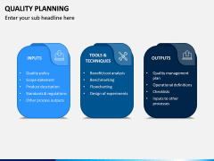 Quality Planning PPT Slide 4