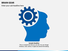 Brain Gear PPT Slide 3