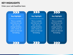 Key Highlights PPT Slide 4