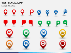 West Bengal Map PPT Slide 7