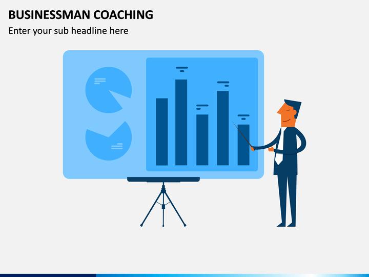 Businessman Coaching PPT Slide 1