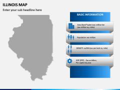 illinois Map PPT Slide 4