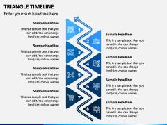 Triangle Timeline PPT Slide 6