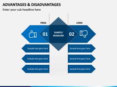 Advantages Disadvantages PPT Slide 3
