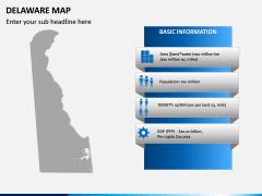Delaware Map PPT Slide 4