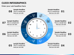 Clock Infographics PPT Slide 3