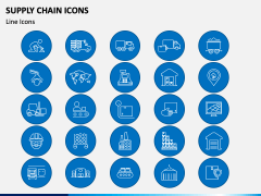 Supply Chain Icons PPT Slide 3