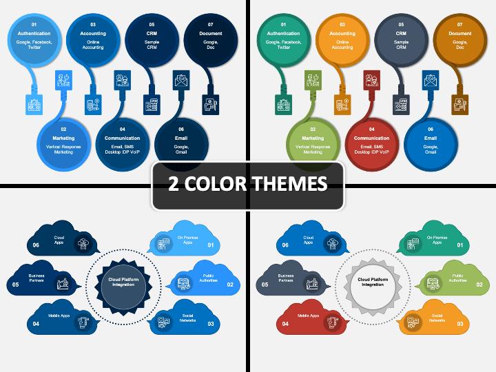 Cloud Integration PPT Cover Slide