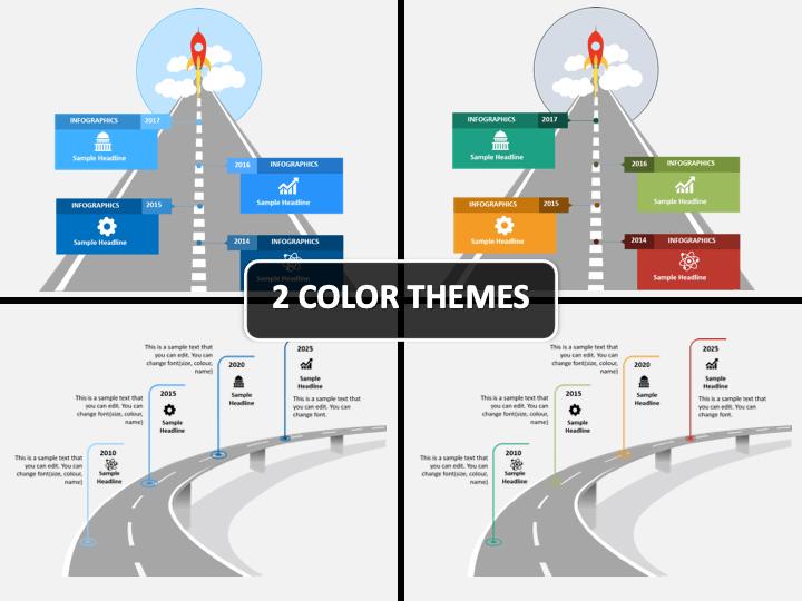 Roadmap Timeline PPT Cover Slide