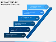 Upward Timeline PPT Slide 4