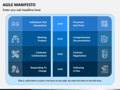 Agile Manifesto PPT Slide 1