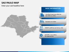 Sao Paulo Map PPT Slide 3