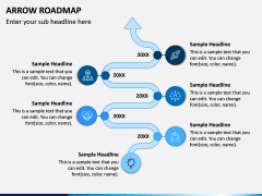 Arrow Roadmap PPT Slide 3