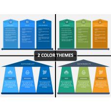 3 Pillars of Sustainability PPT Cover Slide