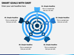 Smart Goals With Dart PPT Slide 1