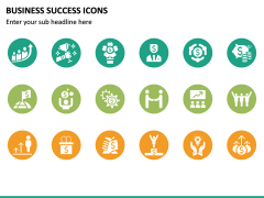 Business Success Icons PPT Slide 3