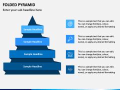 Folded Pyramid PPT Slide 2