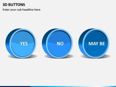 3d Buttons PPT Slide 2