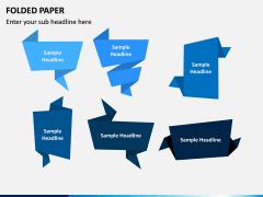 Folded Paper PPT Slide 2